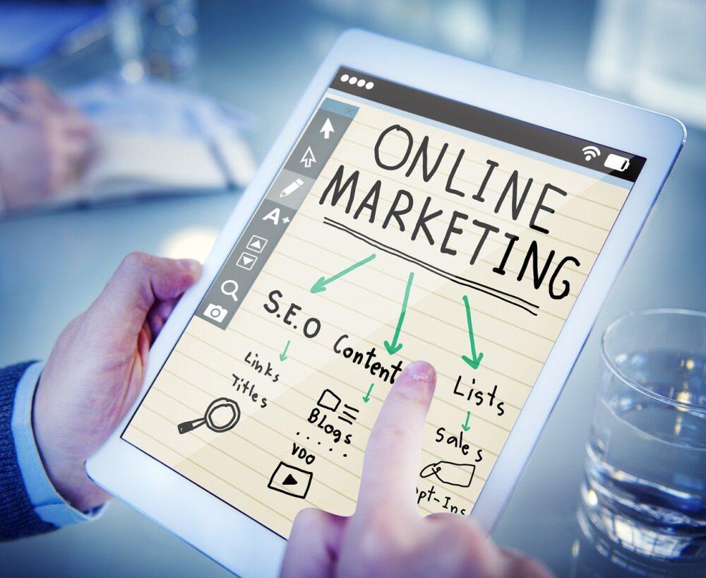 organización de marketing online