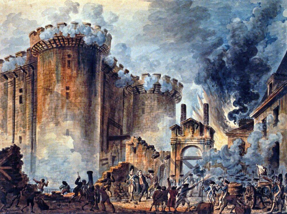 La toma de la Bastilla fue el hecho más significativo de la Revolución Francesa