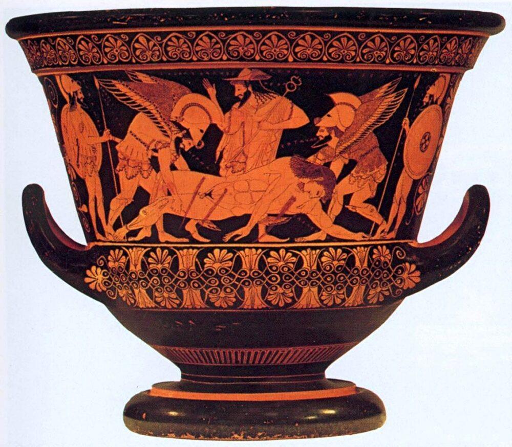 ceramica influyente en la economía en tiempos de la antigua Grecia