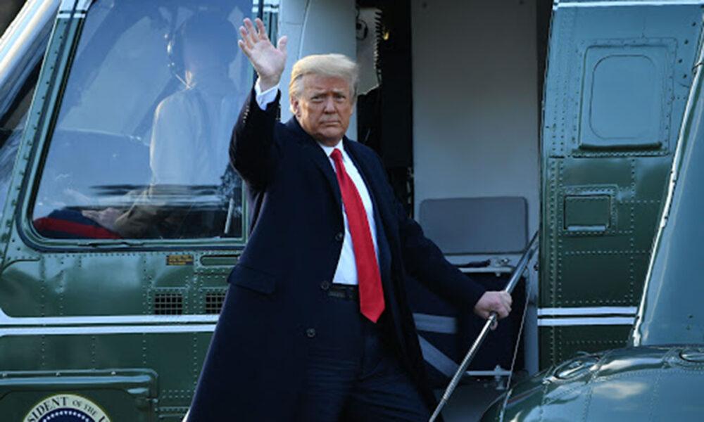 Despedida de Donald Trump como presidente de los Estados Unidos