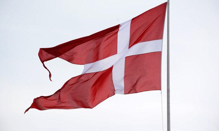 PIB de Dinamarca bandera