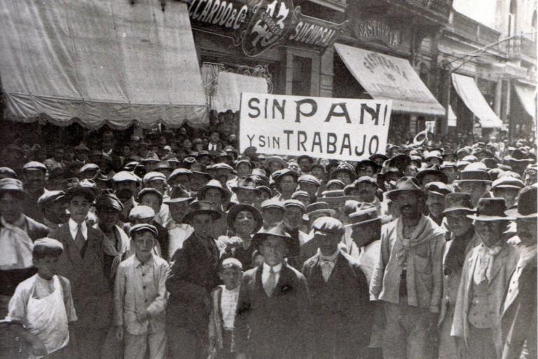 España en la década de 1910 se caracterizó por constantes huelgas y movimientos sociales