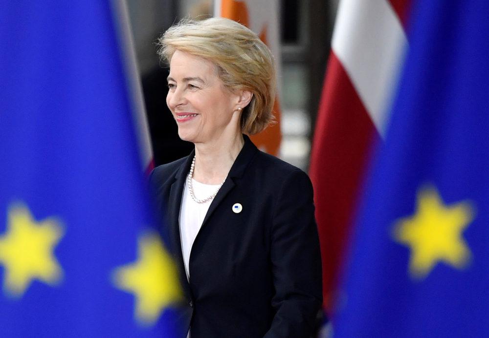 Presidenta de la Comisión, una de las instituciones y organismos de la Unión Europea