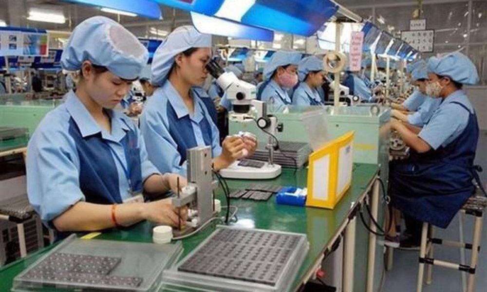 Actividades industriales en Vietnam