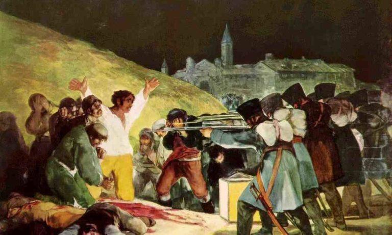El levantamiento del 2 de mayo en Madrid fue retratado con maestría por Goya