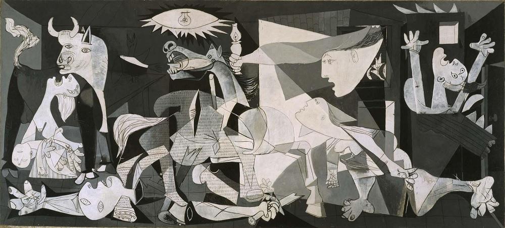 El Guernica es la obra más representativa que retrata la Guerra Civil