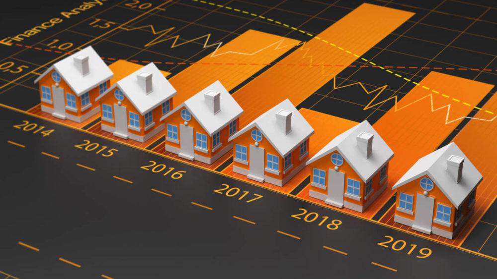 evolucion del precio de la vivienda en España